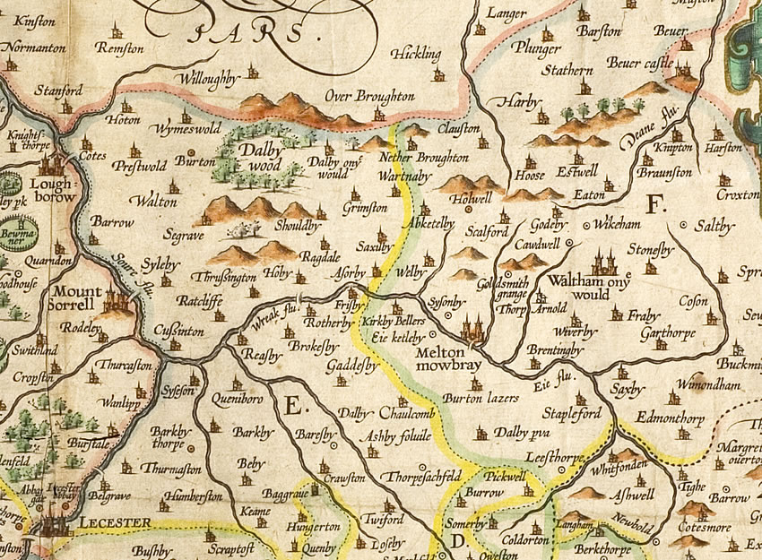 Waltham in 1602