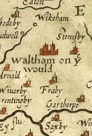 Waltham in 1570