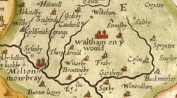 Historic maps | Waltham on the Wolds