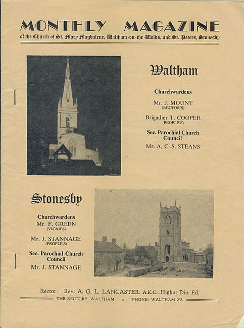 The church magazine for February 1965