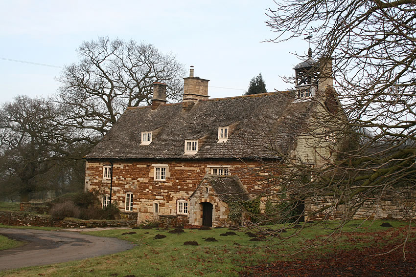 The water bailiff's cottage lies close to the site of the abbey.