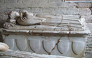 The tomb of Richard Willouhgby.